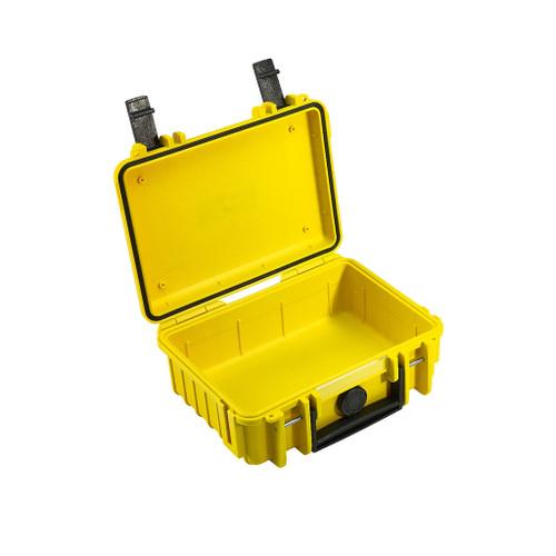B&W 500/Y Type 500 Yellow Outdoor Waterproof Case