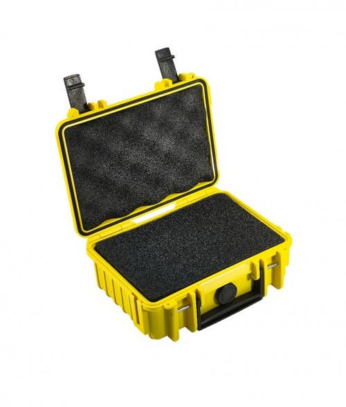 B&W 500/Y/SI Type 500 Yellow Outdoor Waterproof Case