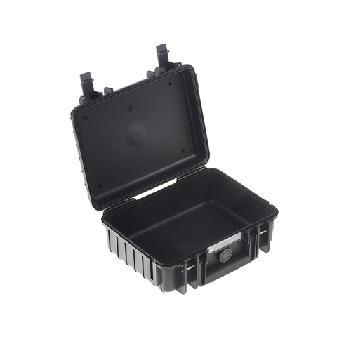 B&W 1000/B Type 1000 Black Outdoor Waterproof Case