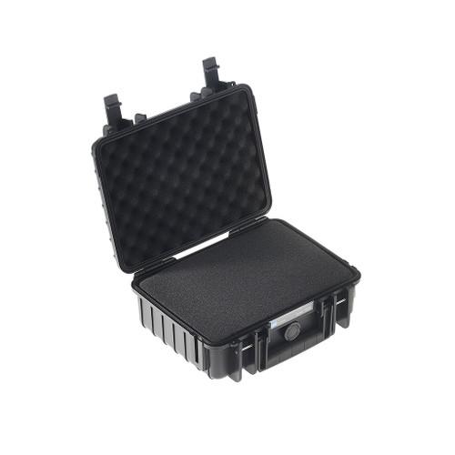 B&W 1000/B/SI Type 1000 Black Outdoor Waterproof Case