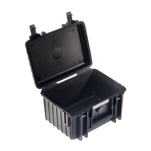 B&W 2000/B Type 2000 Black Outdoor Waterproof Case