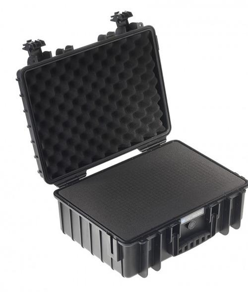B&W 5000/B/SI Type 5000 Black Outdoor Waterproof Case