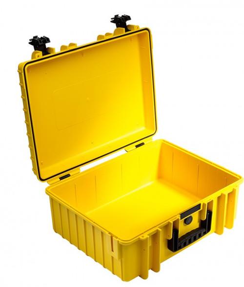 B&W 6000/Y Type 6000 Yellow Outdoor Waterproof Case