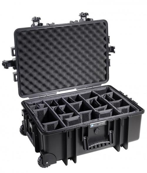 B&W 6700/B/RPD Type 6700 Black Outdoor Waterproof Case