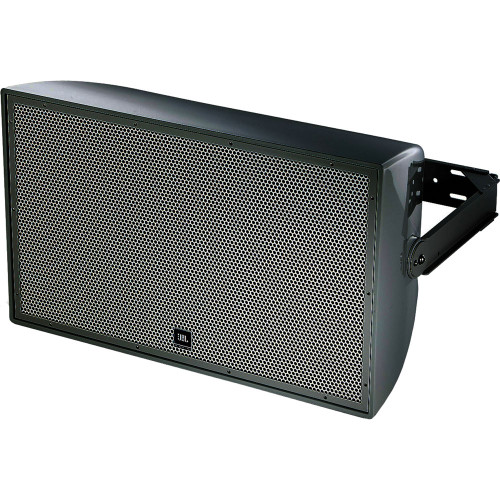 """JBL AW595-LS-BK High Power 2-Way All Weather Loudspeaker with 1 x 15"""" LF for Life Safety Applications"""