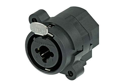 Neutrik NCJ9FI-S 3 Pole XLR Female Receptacle