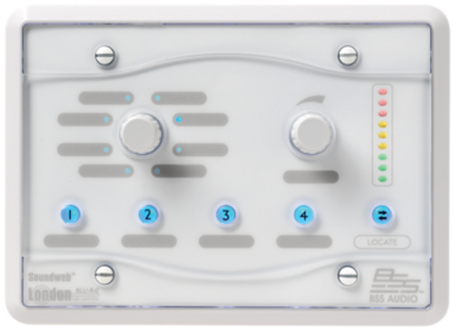 BSS BLU-8-V2-WHT Programmable Zone Controller