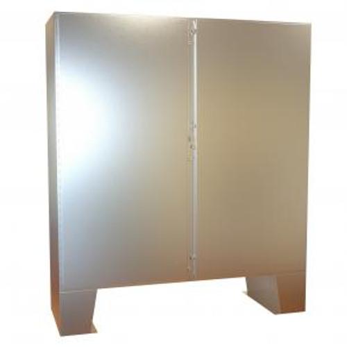 Hammond Manufacturing 1422N4SSF24F Type 4 Mild Steel Two Door Floormount Enclosure