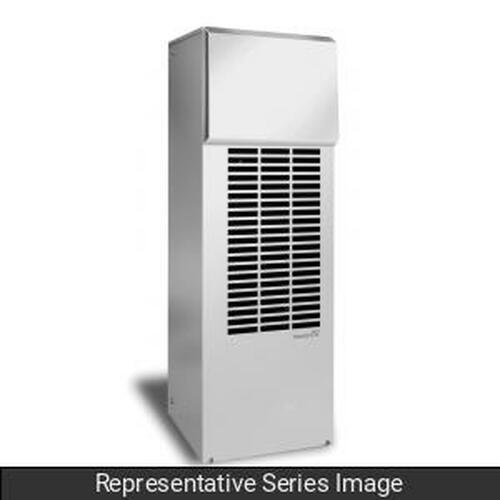 Hammond Manufacturing DTS3285A460N4SS Type 4X Side Mounting 5000-12000 BTU/H Outdoor Air Conditioner