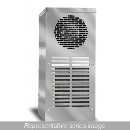 Hammond Manufacturing DTS3031A230N4SS Type 4X Side Mounting 900-1200 BTU/H Outdoor Air Conditioner