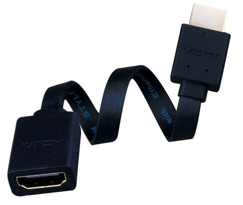 Vanco 233106X Right Angle Super Flex Flat HDMI High Speed