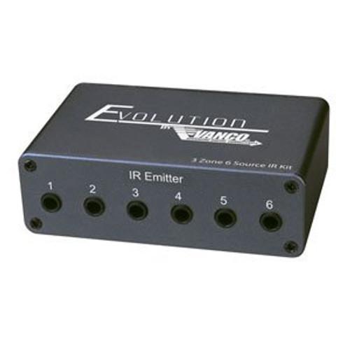 Vanco EV-IRKTRX Evolution Three Zone Six Source IR Kit