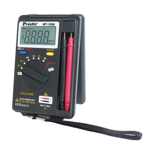 Pro'sKit MT-1506 Pocket True RMS Auto Range Multimeter
