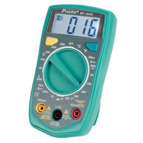Pro'sKit MT-1233C Digital Multimeter