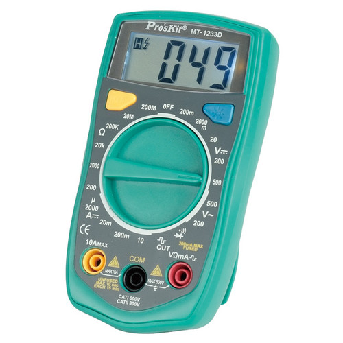 Pro'sKit MT-1233D Digital Multimeter