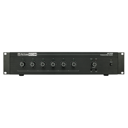 Atlas AA120G 6-Input, 120-Watt Mixer Amplifier