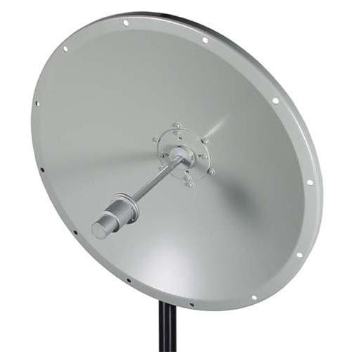 L-Com HG5158-23D 5.1 GHz to 5.8 GHz 23 dBi Broadband Parabolic Dish Antenna