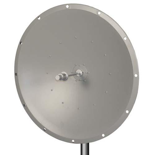 L-Com HG5158-28D 5.1 GHz to 5.8 GHz 28 dBi Broadband Parabolic Dish Antenna