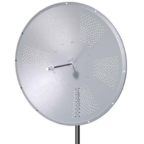 L-Com HG5158-31D 5.1 GHz to 5.8 GHz 31 dBi Broadband Parabolic Dish Antenna