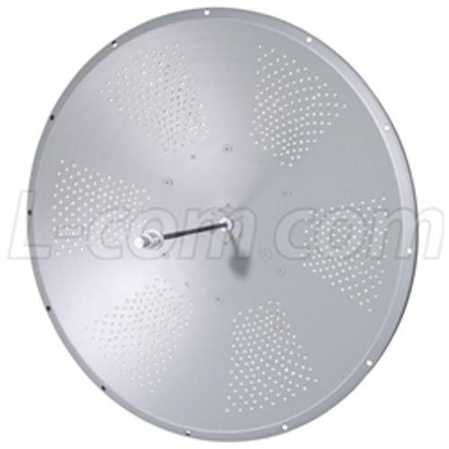 L-Com HG5833D 5.8 GHz 33 dBi Solid Parabolic Dish Antenna