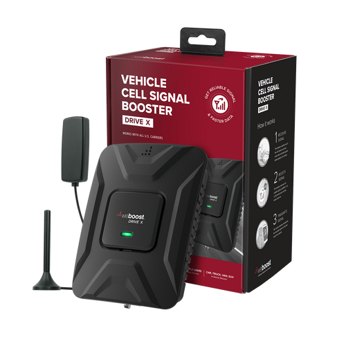WeBoost 475021 Drive X Cell Phone Signal Booster