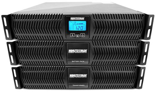 MinuteMan ED10000RTXLP 10kVA On-line Parallel Rack/Tower UPS