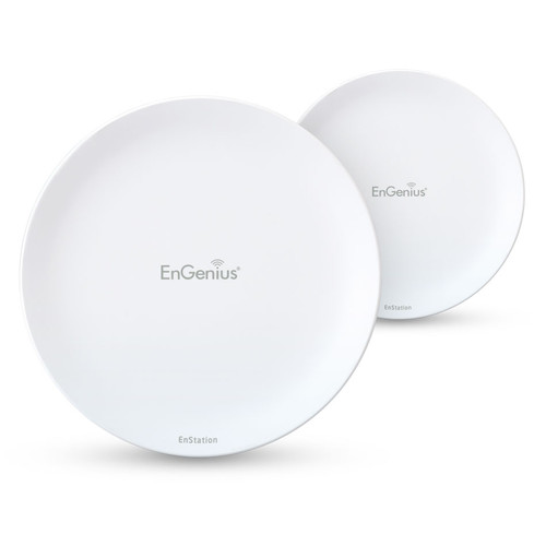 EnGenius EnStation5-AC Wi-Fi 5 Outdoor 5 GHz Wave 2 Long-Range PtP Wireless Bridge