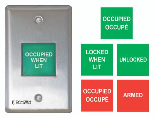Camden Controls CM-AF500 Single Gang LED Illuminated Annunicator