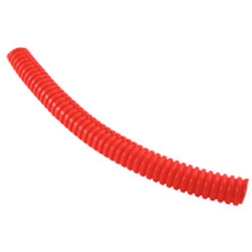 "NTE 04-SL1.00-R-10 10 Ft, 1"" Diameter Red Polyethylene Split Loom Roll"