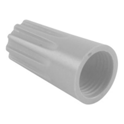 NTE 76-WN22L 22-14 AWG PVC Grey Wire Nut Twist-On, 50 Pack