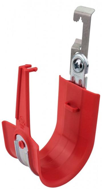 "Platinum Tools HPH64W-25R 4"" Snap-Lock Batwing HPH Red J-Hooks, 25 Pack"