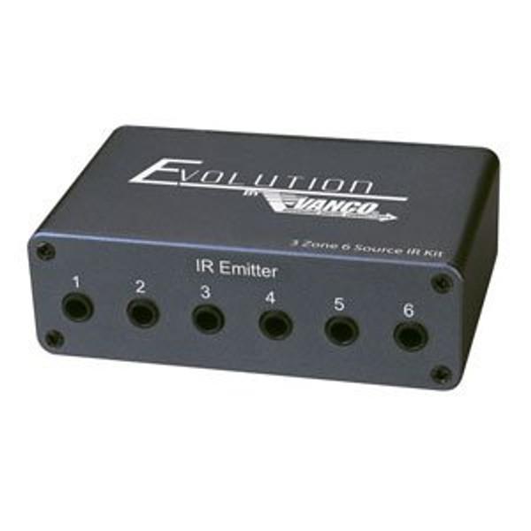 Vanco EV-IRKTTX Evolution Three Zone Six Source IR Kit