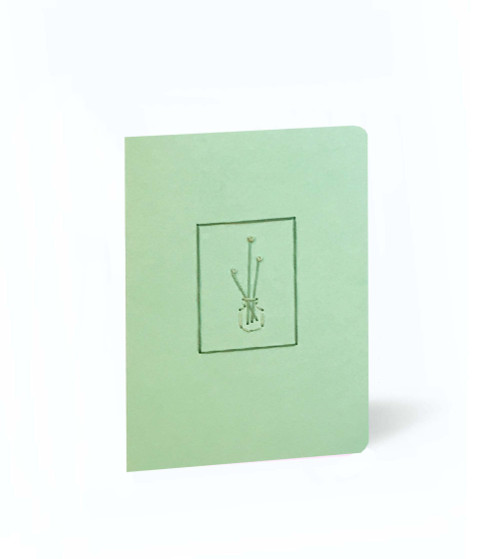 Green Vase Mini Set of 5