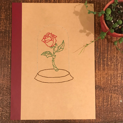 Enchanted Rose Lined Notebook