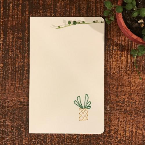 Succulent Moleskin Blank Notebook