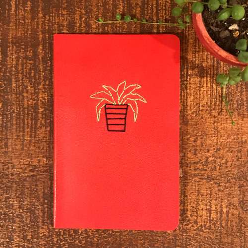 House Plant Moleskin Lined Notebook