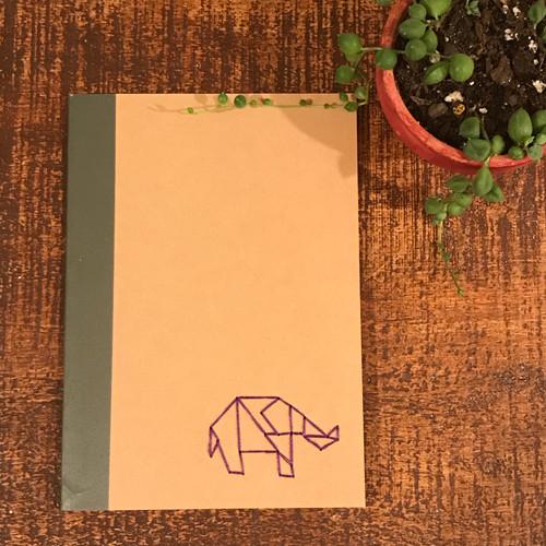 Elephant Lined Notebook