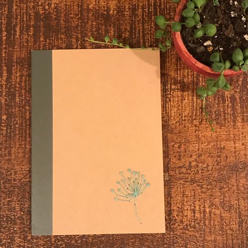 Dandelion Lined Notebook