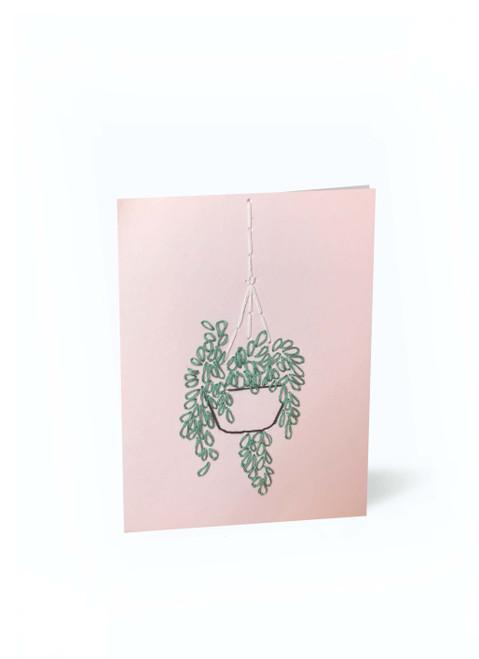 Pink Hanging Plant