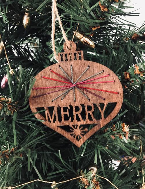 Bethlehem Ombre Ornament