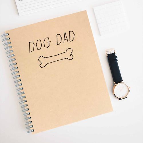 Dog Dad Notebook