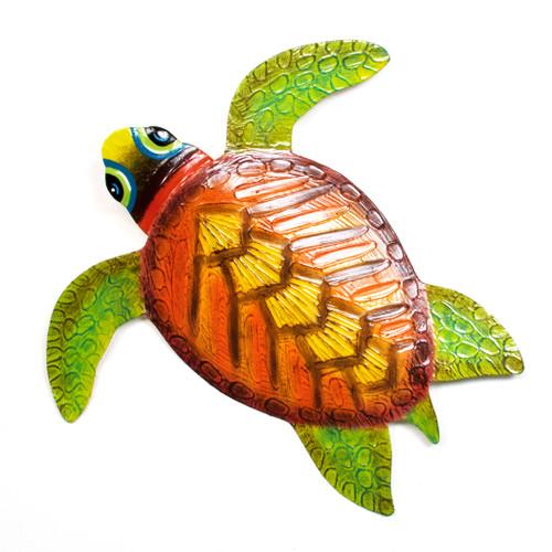 Sea Turtle Metal Wall Art OS105