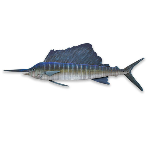 Sailfish Wooden Wall Decor