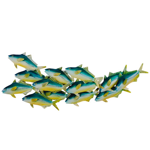 Sardine School (patio safe) Metal Wall Art