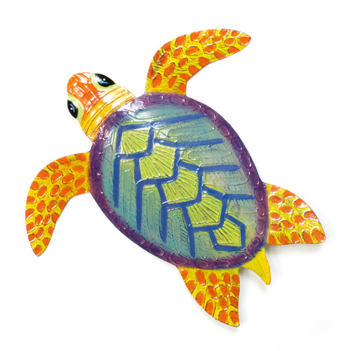 Sea Turtle Metal Wall Art - OS106