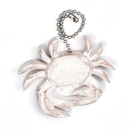 Fan Pull Crab White