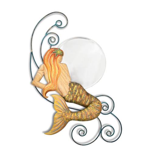 Mermaid Waves Moon Mirror CW099