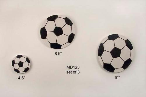 Soccer Balls Wall Art