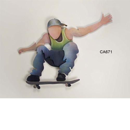 Skateboarder Wall Art