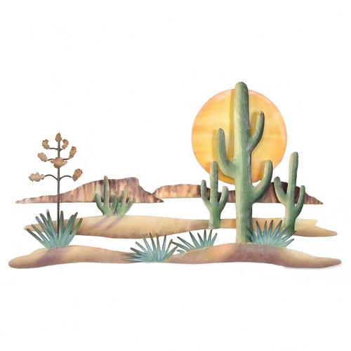 Guardians of the Desert Metal Art